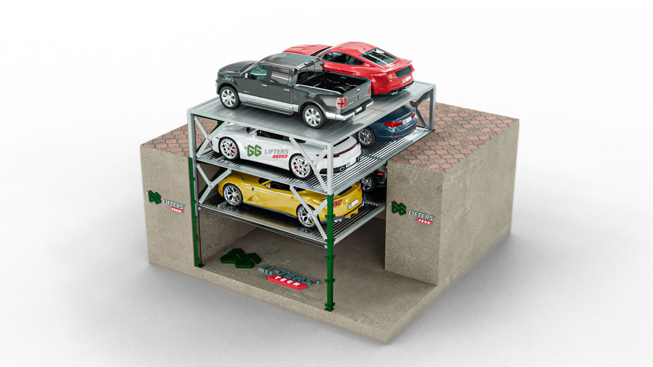 underground car lift company in UK